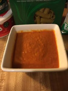 finished sauce